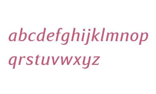 Ripe Apricot W08 Italic