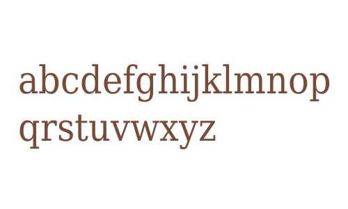 DejaVu Serif Condensed V1