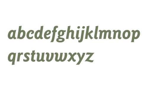 ITC Goudy Sans LT Bold Italic