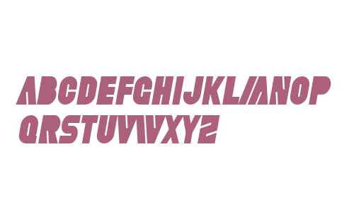 SF Fortune Wheel Condensed Italic V1
