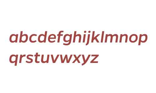 Gentona W00 Medium Italic
