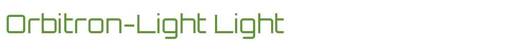 Orbitron-Light