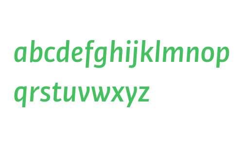 Bulo W03 Medium Italic