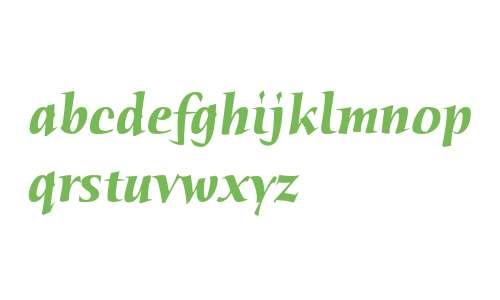Humana Serif ITC Bold Italic