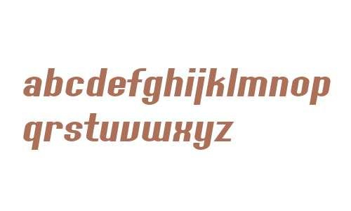 SF Willamette Extended Italic V1 V2