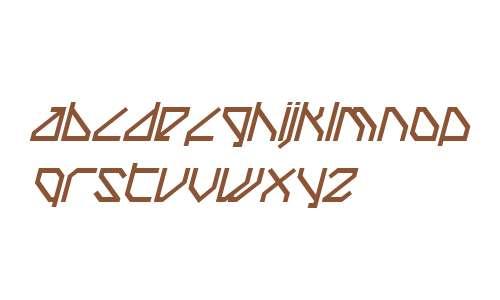 TechstepBold Oblique W00 Rg