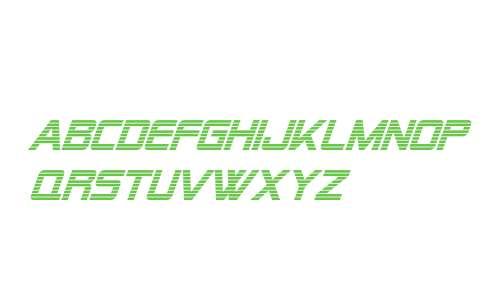 Alien Encounters Italic V1