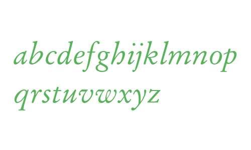 12 pt Stempel Garamond* Italic 13108