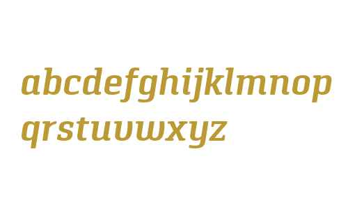 Pancetta Serif W03 SemiBold It