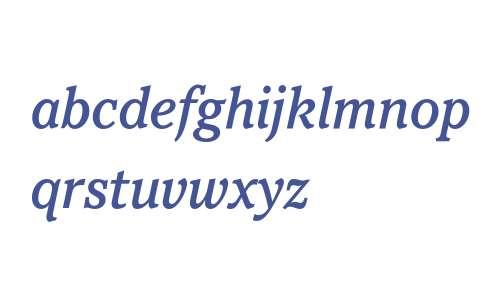 Pacella ITC Std Medium Italic