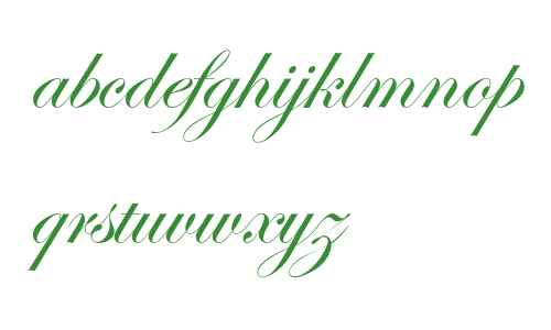 Edwardian Script ITC Regular Alternate