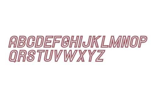 Hallandale Inline Italic JL V2