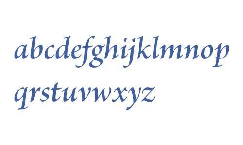 Brioso Pro Semibold Italic Subhead