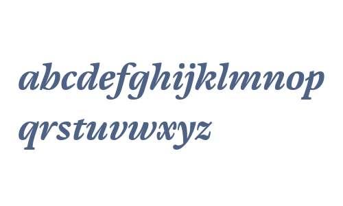 Cardamon W01 Bold Italic