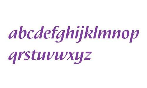 Nautilus LT W04 Bold Italic