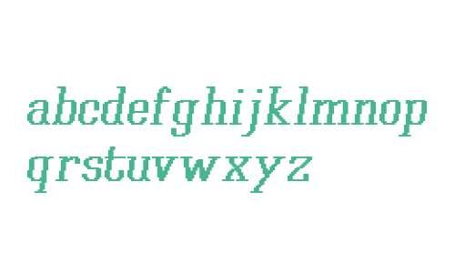 Xilla Pro Bold Italic