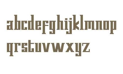 Kempton Demo Serif