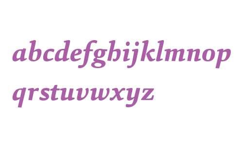 Sina W04 ExtraBold Italic