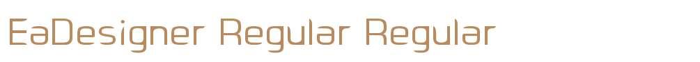 EaDesigner Regular