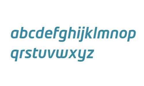 Neo Tech W04 Medium Italic