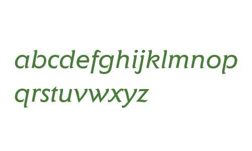 Elan ITC W04 Book Italic
