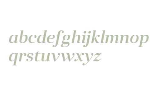 Anglecia Pro Title Medium Italic