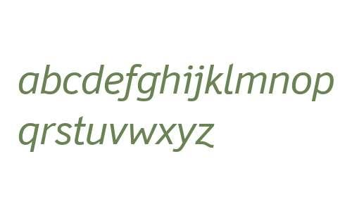Felbridge W04 Italic