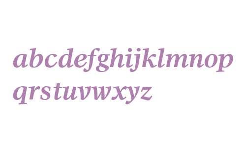 Olympian W01 Bold Italic