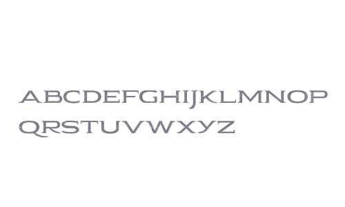 Pauraque_Serif_Rough Regular