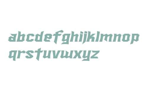 SF Ironsides Extended Italic V2 V1