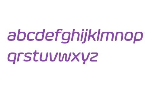Eurosoft W03 Medium Italic