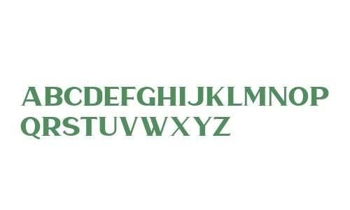 Haarlem Serif DEMO