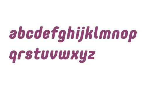 Core Mellow W01 75 XBold Italic