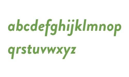 Brandon Grot W02 Bold Italic