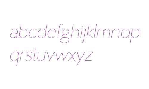 MB Vinatage W01 Thin Italic
