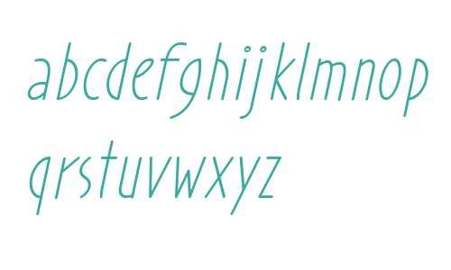 Prohandy Italic