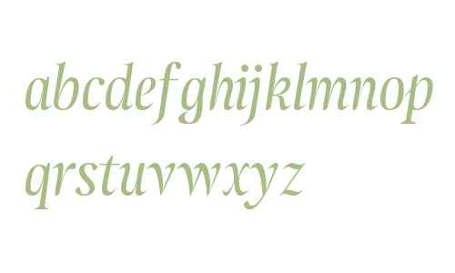 Atlantica Display LF Italic