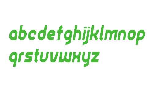 Ekela Heavy Condensed Italic