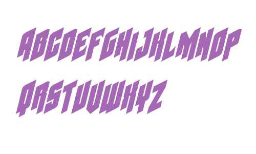 Galaxy Force Italic