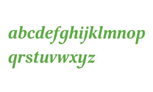 Margon 360 Bold Italic W08 Rg