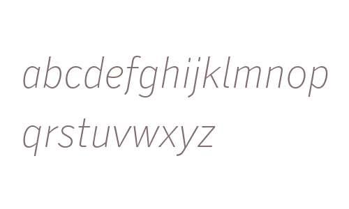 Secca Hairline W03 35 Italic