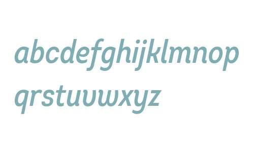 Intro Cond SemiBold Italic