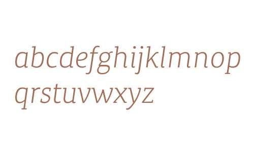 Canberra FY W03 Light Italic