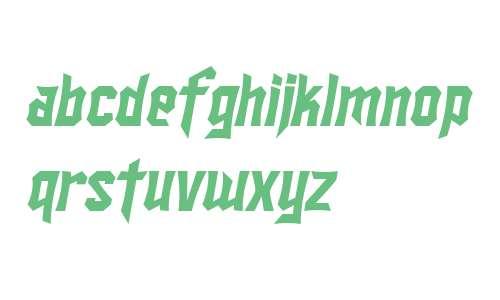 SF Ironsides Italic V1 V2