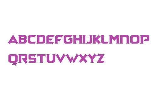 Zagga Serif Personal Use Regular