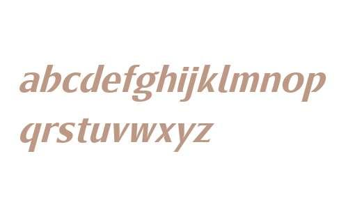 Metamoderna W01 Medium Italic
