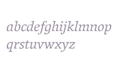 Breughel W01 56 Italic