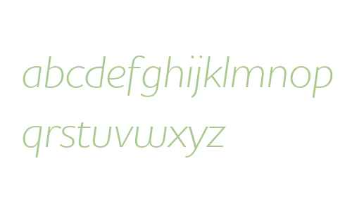 Houschka W03 Light Italic