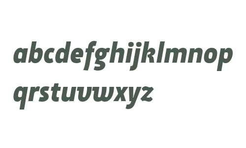 Suomi Sans W01 Bold Italic