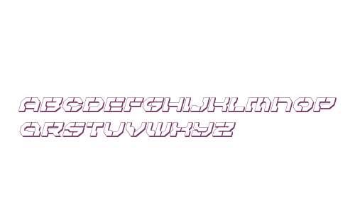 Pulsar Class 3D Italic